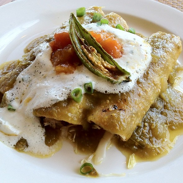 Mahi Mahi Enchilada With Green Salsa And Papaya Compote  @ Royal Lahaina Resort