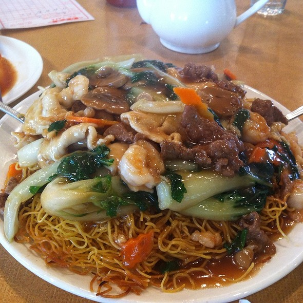 House Special Crispy Chow Mein @ HK Cafe - Red Tea House