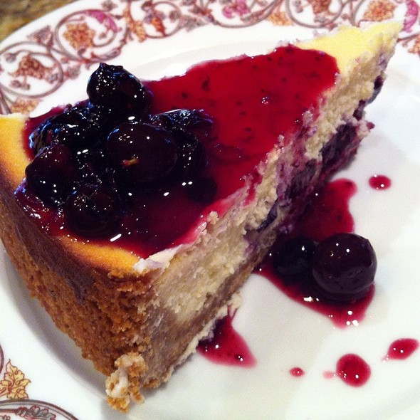 Blueberry Cheesecake @ The Fat Tuscan Cafe