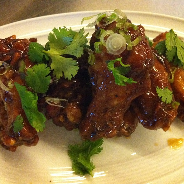 Sweet & Spicy Chicken Wings - Wolfgang Puck Bar & Grill - LA Live, Los Angeles, CA
