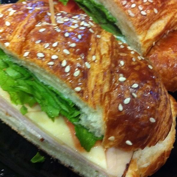 Turkey and Swiss Croissant @ Porto's Bakery