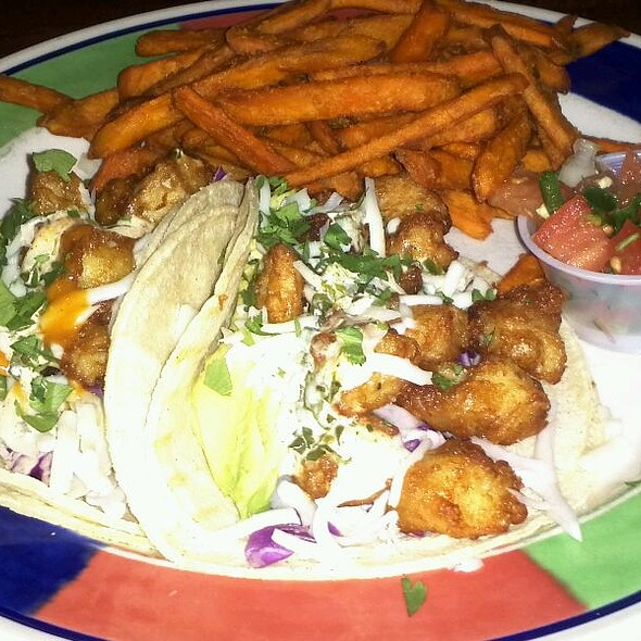 Beer Battered White Fish Tacos @ Ruggles Bakery