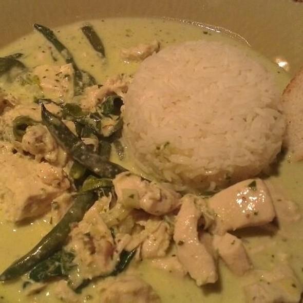 Creamy Basil Chicken with Rice @ Blossom Espresso