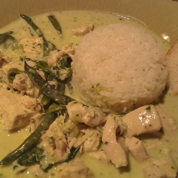 Creamy Basil Chicken with Rice @ Blossom Espresso