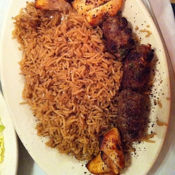 Kebab Combo @ Balkh Shish Kebab House