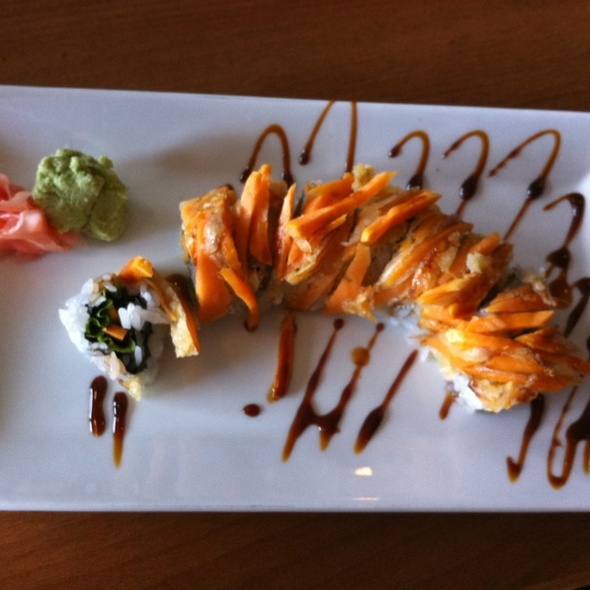 Yam Lovers Maki @ Kome Sushi And Sake House