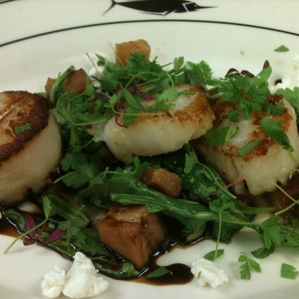 Pan Seared Scallops  @ The Oceanaire Seafood Room