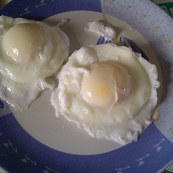 Poached Eggs @ Home