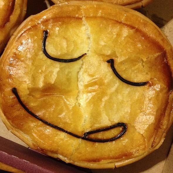 Bacon Egg & Cheese Pie @ Pie Face