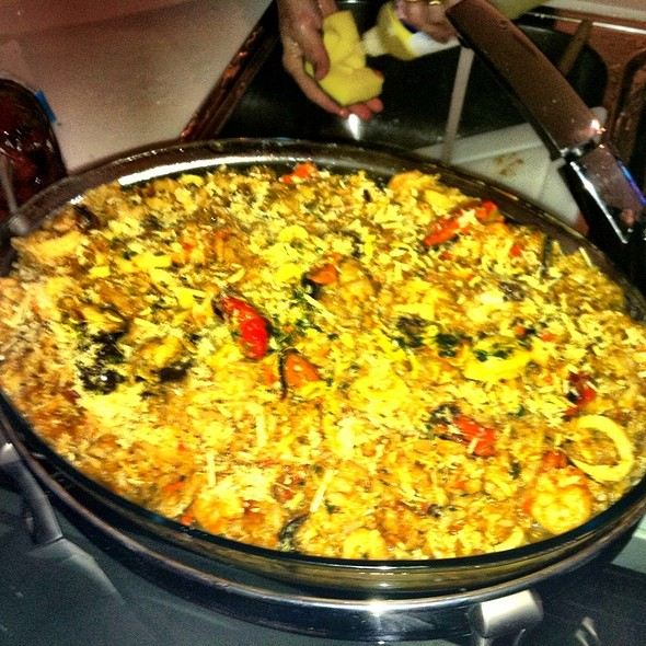 risotto de frutos do mar @ Sandra's Buffet