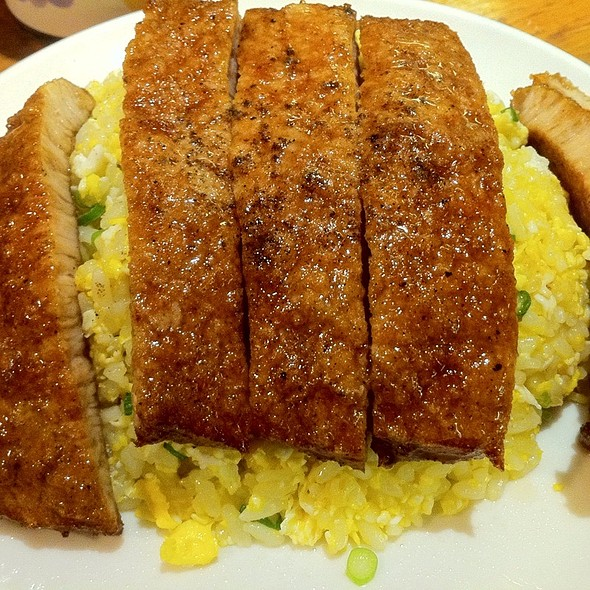 Fried Rice With Pork Chop @ Raffles City