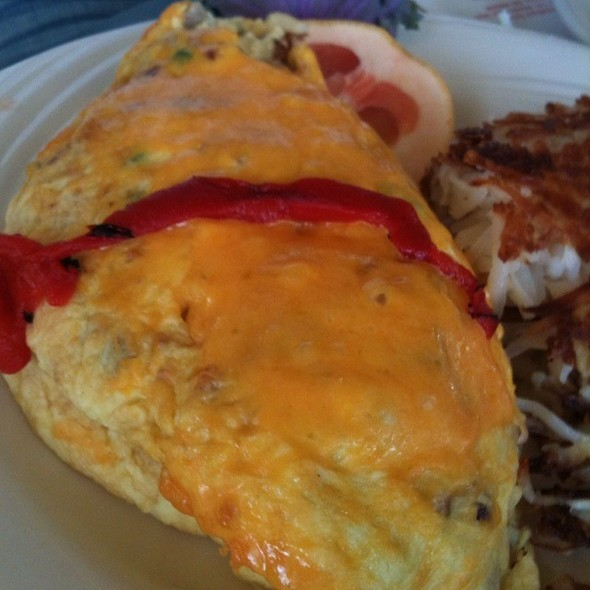 Meat Lovers Omlette  @ Sophia's House of Pancakes