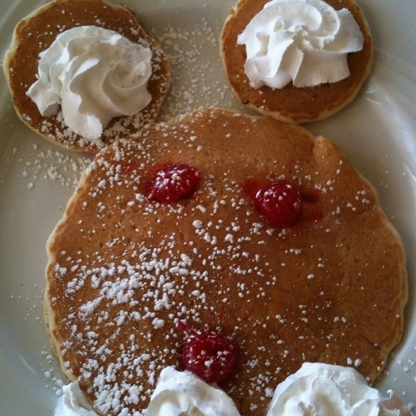 Mickey Mouse Pancakes @ Sophia's House of Pancakes