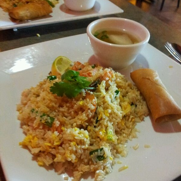 Thai Fried Rice - Aloy Thai Cuisine, Boulder, CO