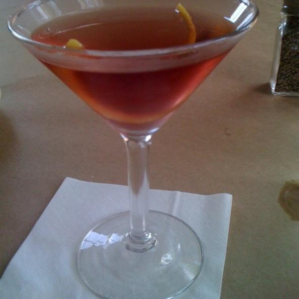 Raspberry Martini @ Liberty Bar