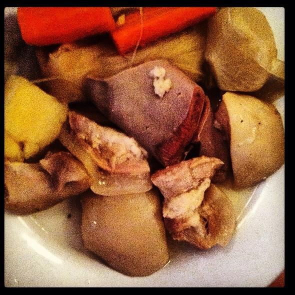 Tête De Veau Sauce Gribiche @ Chez Nenesse