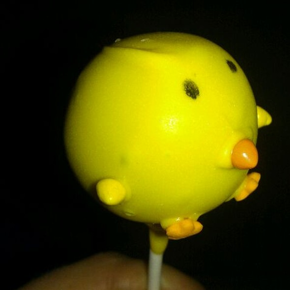 Easter Cake Pops @ The Cake Pop Company