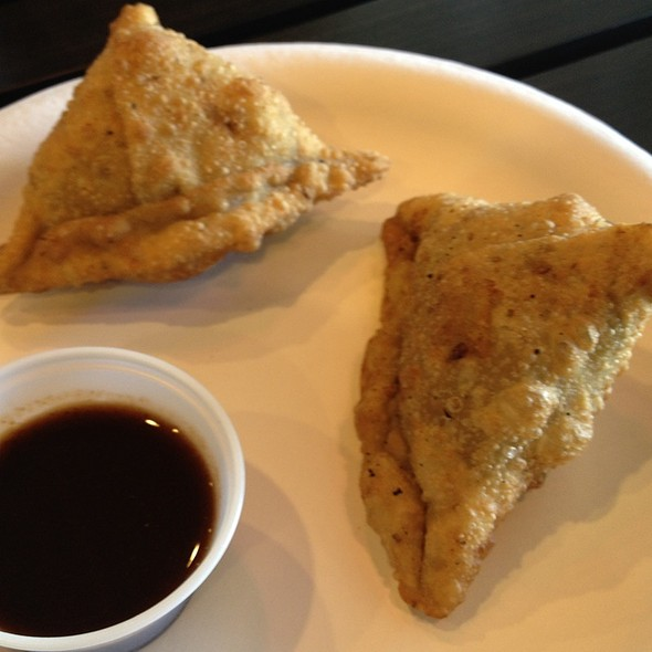 Samosa @ Saffron Indian Cafe & Grill
