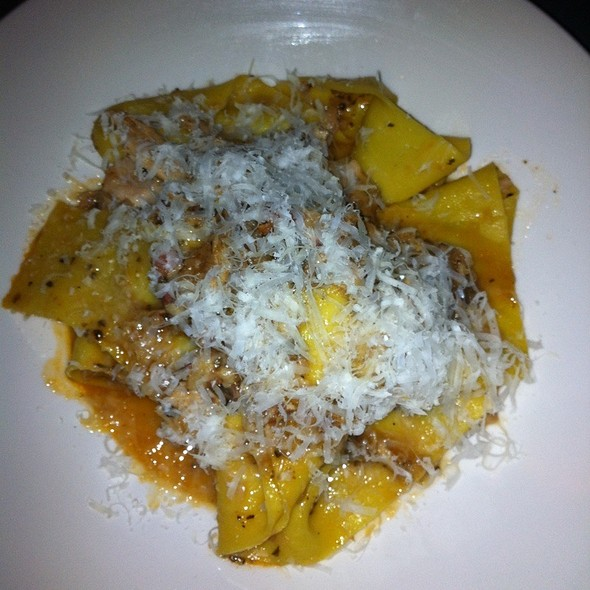 Parpadelle With Rabbit Ragu @ Bar Bambino