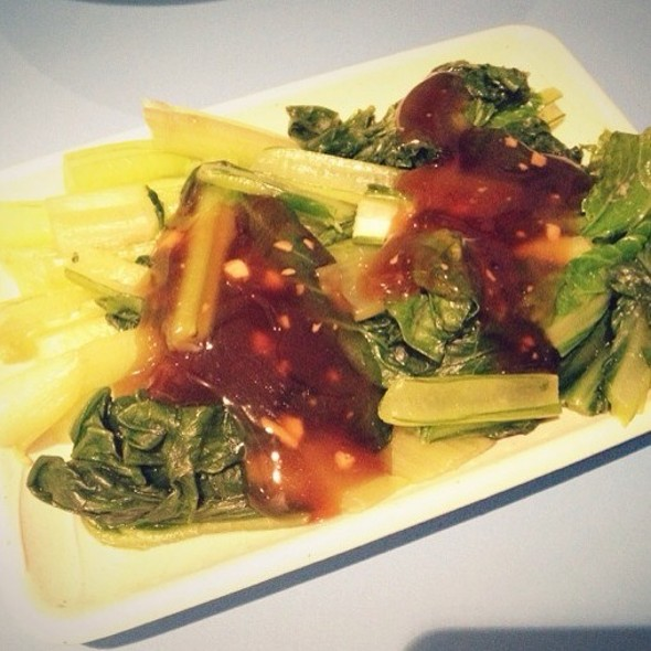 Vegetables With Oyster Sauce