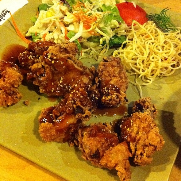 Chicken Kara Age @ Zen Toro Japanese Bistro