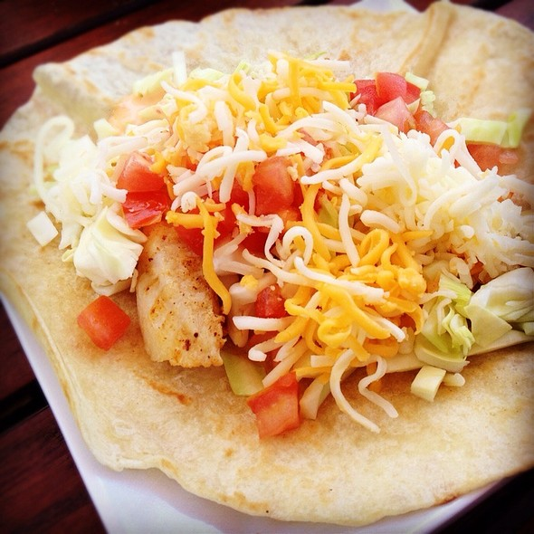 Grilled Tilapia Fish Taco