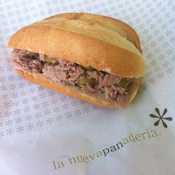 Tuna & Olive Bocadillo @ El Nuevo Panaderia (C.C. Aqua)