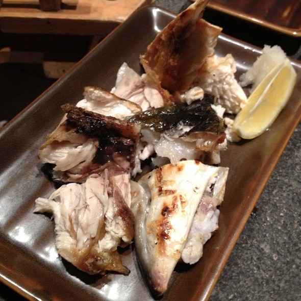 Grilled Hamachi Kama @ Robatayaki