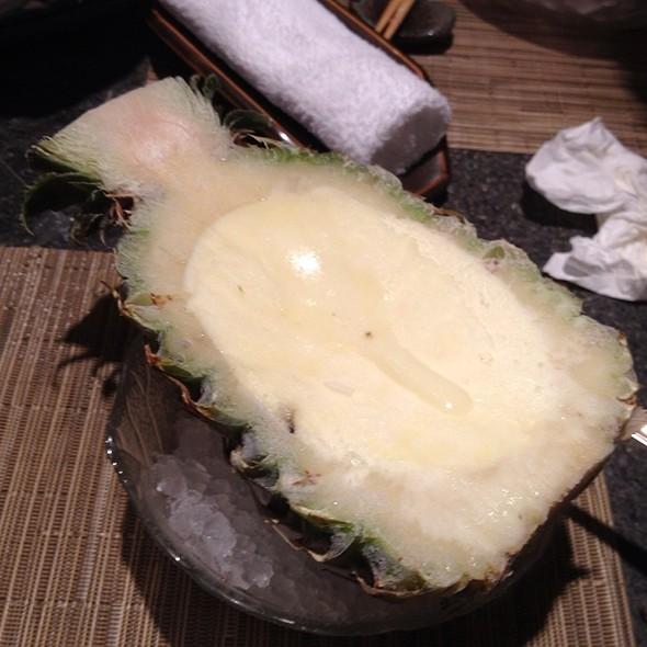 pineapple sherbet @ Robatayaki
