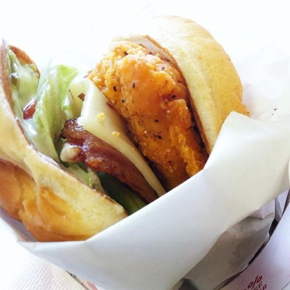 Spicy Guacamole Chicken Club @ Wendy's