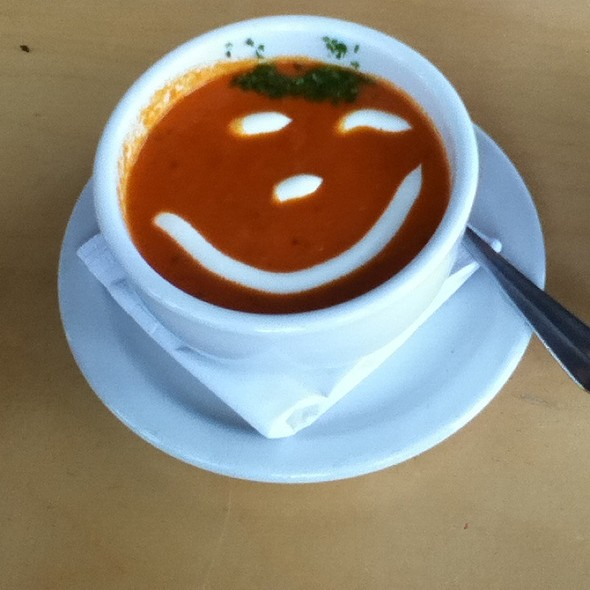 Tomato Bisque @ Roman Candle Pizzeria the
