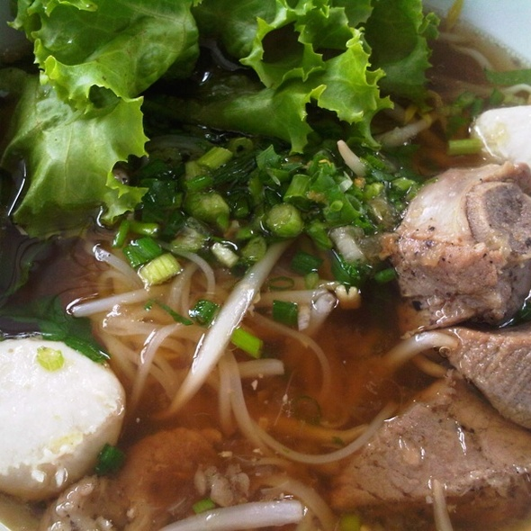 Stewed Pork Noodles Soup @ Ko Tai Soi (โก๋ท้ายซอย)