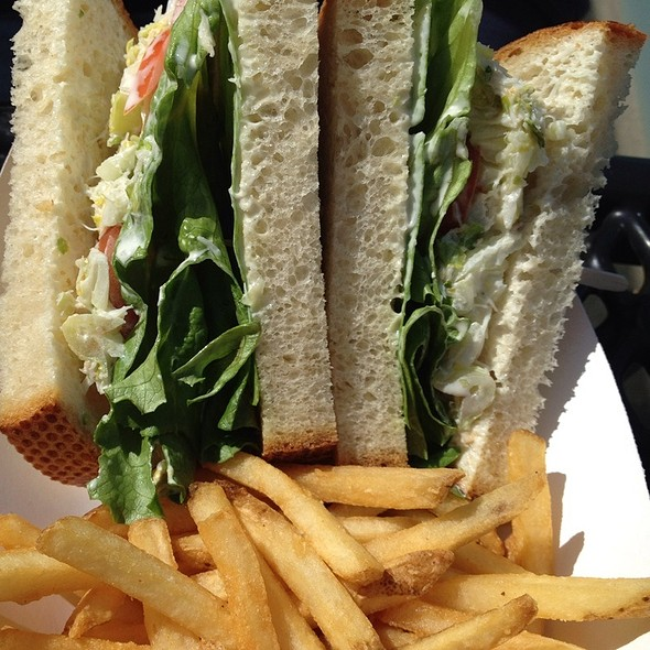Crab Salad Sandwich @ Chowder Grill Hut