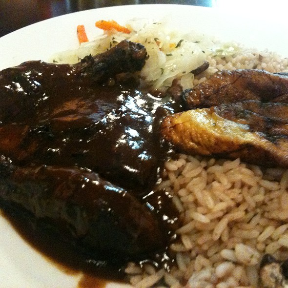 Jerk Chicken - Mangos Caribbean Restaurant, Atlanta, GA