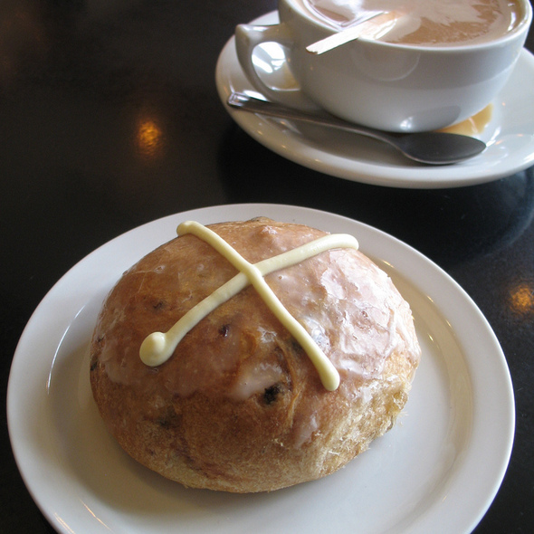 Hot Cross Buns @ Crixa Cakes