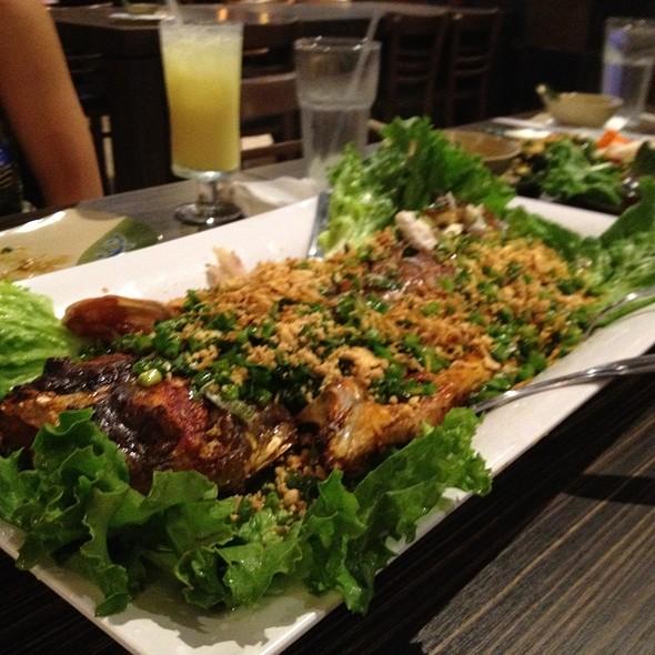 Ga Bun Lai (Catfish Monster Size!) @ Saigon Block Restaurant