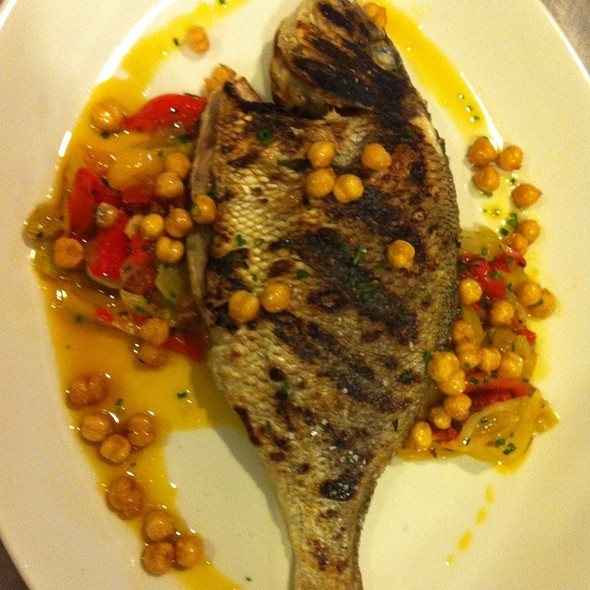 Whole Grilled Scup