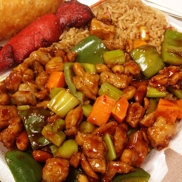 Kung Pao Chicken @ New Ho Toy Chinese Restaurant