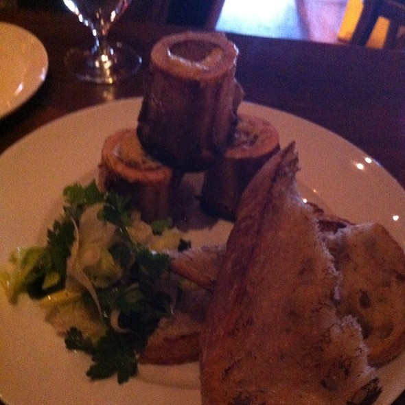 Roasted Bone Marrow @ Goose And Gander