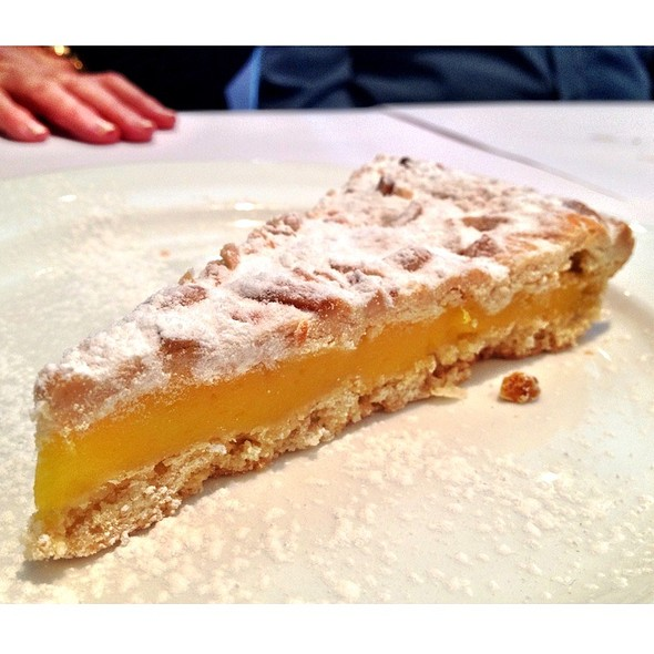lemon tart @ Sotto In The Village