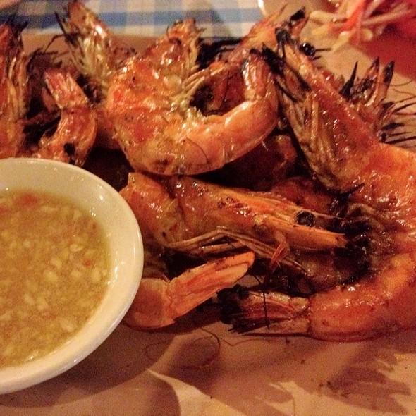 Grilled Shrimps @ Rak Lay Thai Food