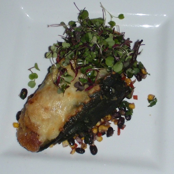 Roasted acorn squash relleno - Lonesome Dove Western Bistro - Fort Worth, Fort Worth, TX