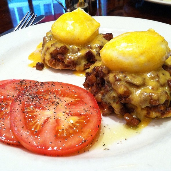 Corned Beef Hash and Eggs @ Daily Grill