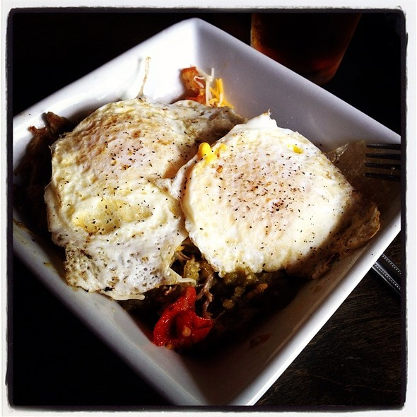 Pulled Pork Hash @ The Square Pub