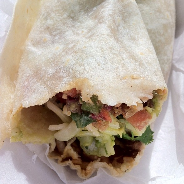 Carne Asada Burrito @ El Fenix Carniceria