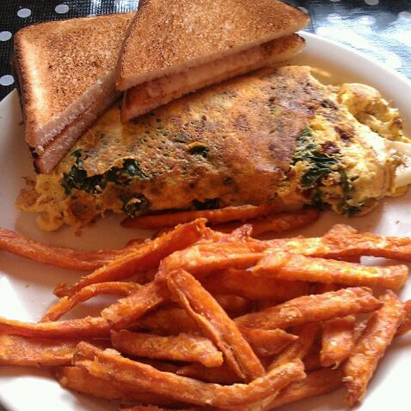 Bacon Spinache Omlette @ Little Food Cafe