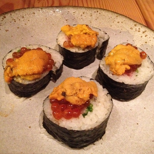 Michael's Negitoro, Uni And Ikura Roll @ Pabu Restaurant