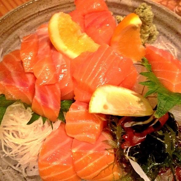 Sake, Wild King Salmon @ Pabu Restaurant