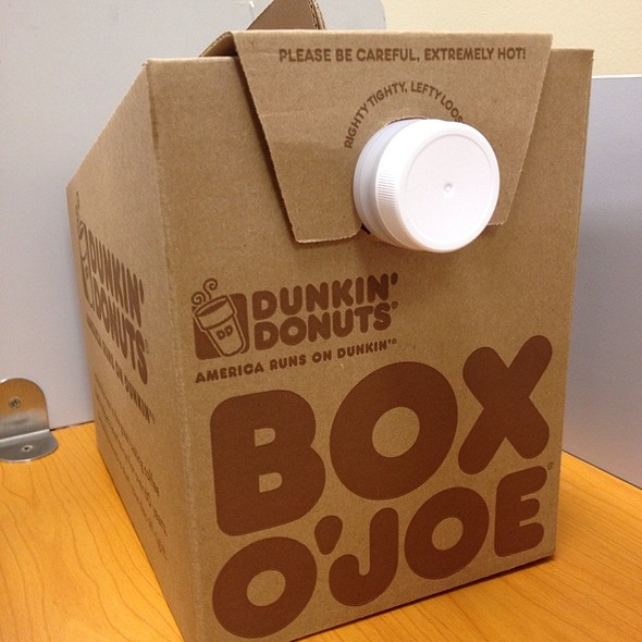 Box O' Joe Coffee @ Dunkin' Donuts