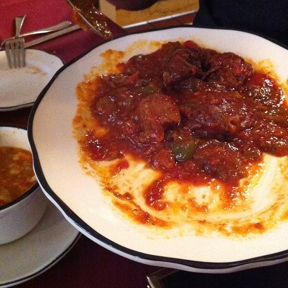 Italian Sausage @ Roma Cafe